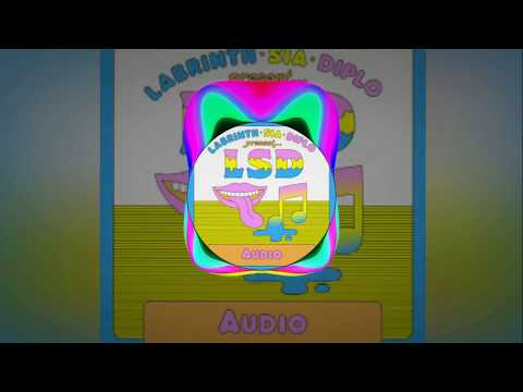 LSD - Audio ft. Sia, Diplo, Labrinth (Instrumental Oficial)