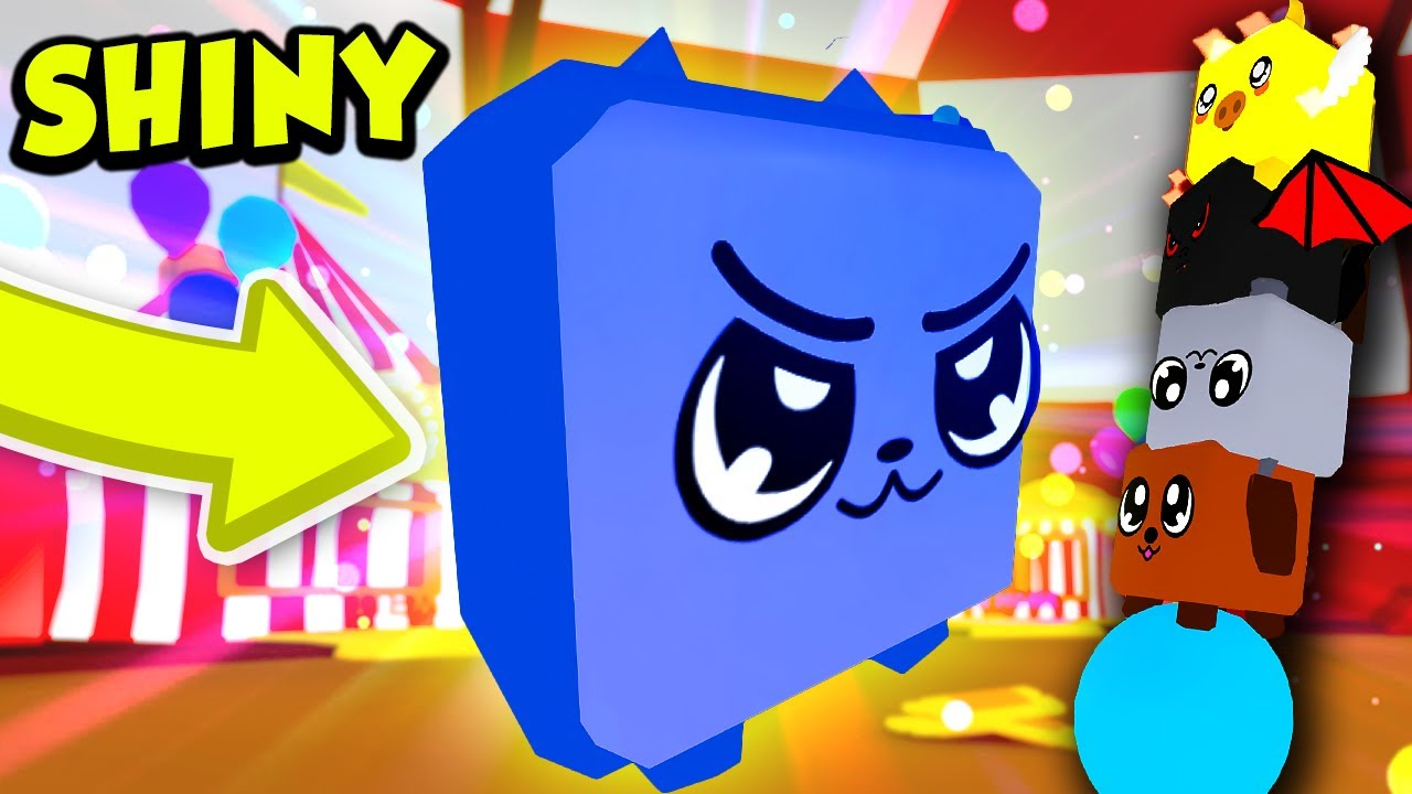 I got SHINY LEGENDARY PETS from the CIRCUS in Roblox Bubble Gum Simulator! thumbnail