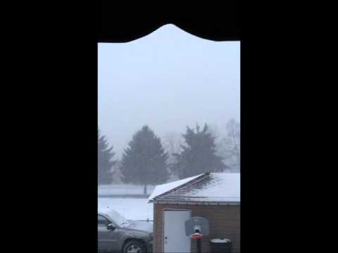 Snowy Weather in Cardale, PA