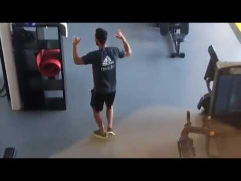 Dabbing Hazard  Chelsea star shows he's no slouch on dance floor