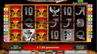 Book of Ra deluxe 6 Walzen, 10 linien, 3€ einsatz , 90 Freispiele