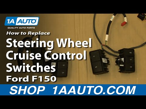 How To Replace Steering Wheel Cruise Control Switches 04-08 Ford F150