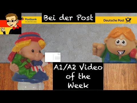 German for Beginners #32: At the Post Office