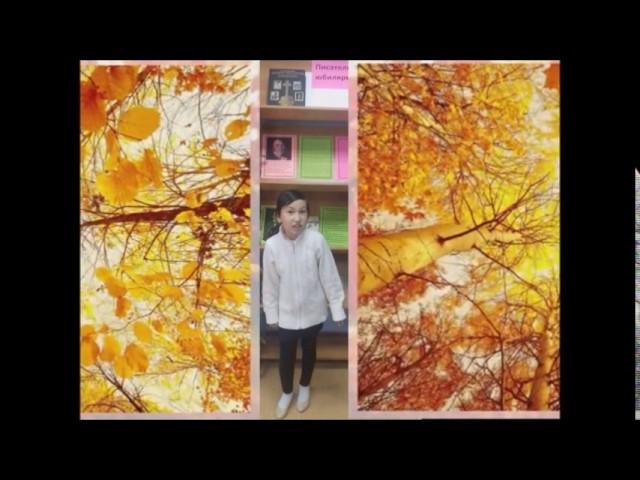 Изображение предпросмотра прочтения – ЛилияДосимова читает произведение «Золотая осень» Б.Л.Пастернака