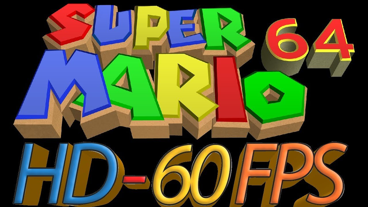 Super Mario 64 HD 60 FPS with perfect physics - Bob Omb Battlefield  (Release + Download)