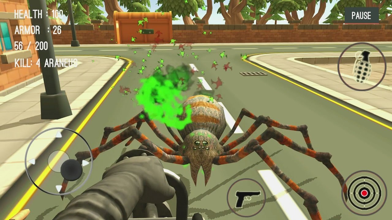 Spider Hunter Amazing City 3D Android Gameplay #2