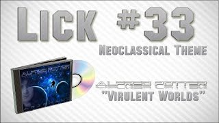 Lick #33 - Neoclassical Theme to