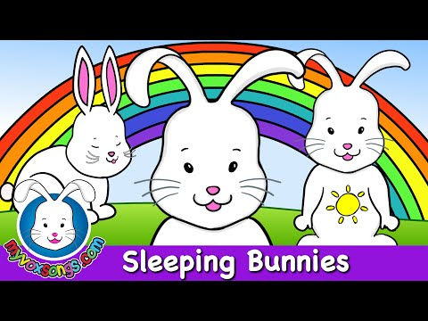 Sleeping Bunnies - Nursery Rhymes & Children's Songs