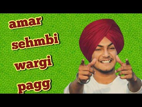 How to tie wattan wali dastar/amar sehmbi wargi pagg/aankhi song/turban king jaskarandeep singh 2018