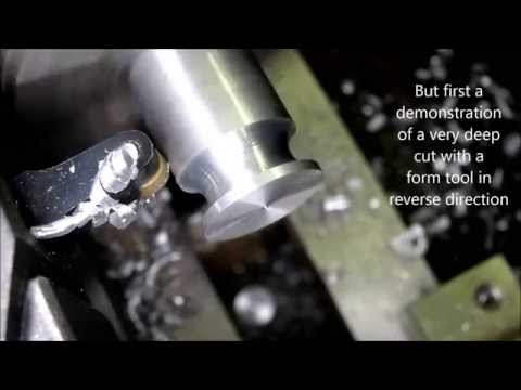 The Ultimate Trick: Cutting off  with the Mini Lathe
