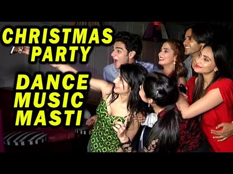 Yeh Un Dino Ki Baat Hai's Team Christmas Party With Other Celebs | Dance, Music, Masti
