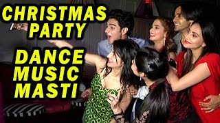 Yeh Un Dino Ki Baat Hai's Team Christmas Party With Other Celebs   Dance, Music, Masti
