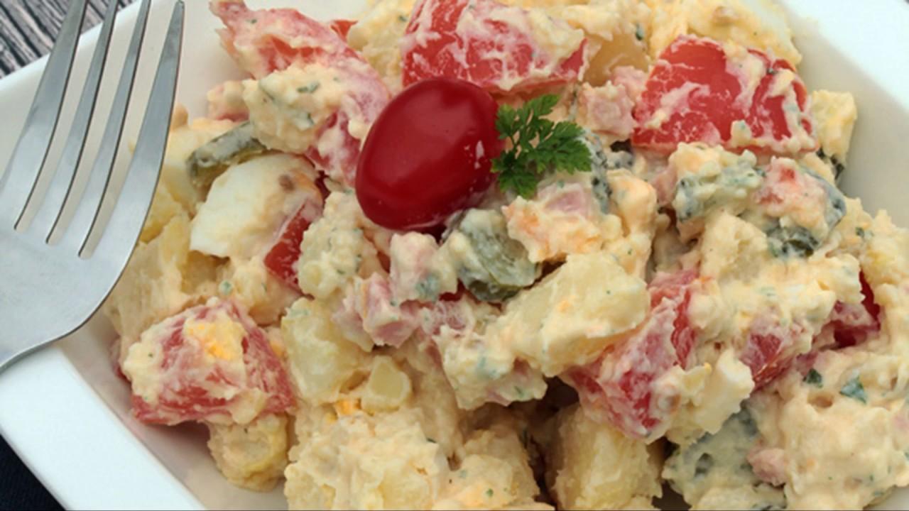 Recette : Salade piémontaise facile - YouTube