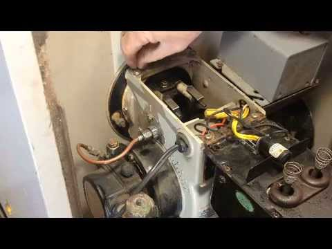 How to replace nozzle on miller furnace