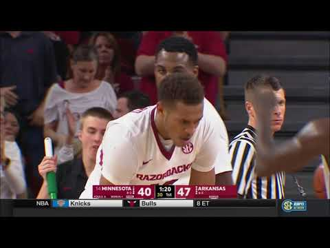 Arkansas vs. Minnesota 12/9/2017