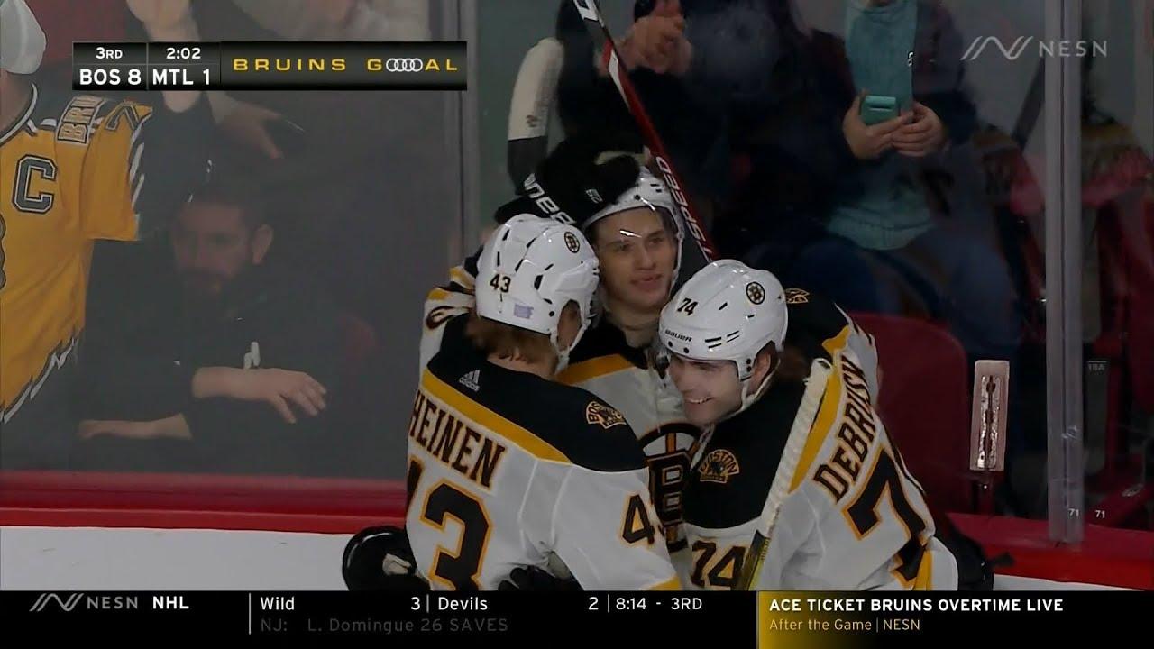 Jack Studnicka starts Bruins season on No. 1 line