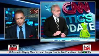 Wolf Blitzer and Kermit Are CNN Gold