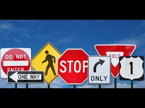 Правила дорожного движения в США. Пересекаем двойную сплошную #США #Америка