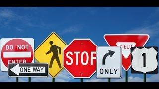 USA КИНО 250. Правила дорожного движения в США. Пересекаем двойную сплошную