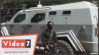 بالفيديو.. شاهد مدرعة الشرطة الجديدة لفض شغب الإخوان
