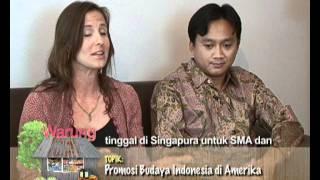 Promosi Budaya Indonesia di Amerika bagian 1 - Warung VOA 8 Juli 2011
