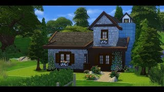 Cabin in the Moutains || The Sims 4 SPEED BUILD
