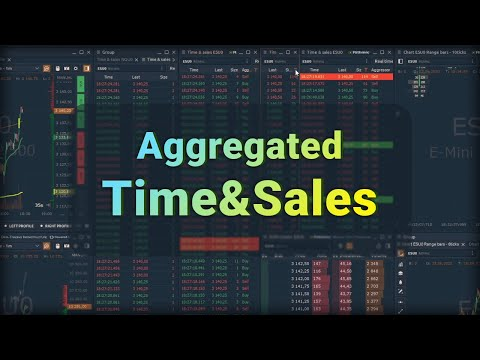 Reconstructed Tape or Aggregated Time & Sales in Quantower platform