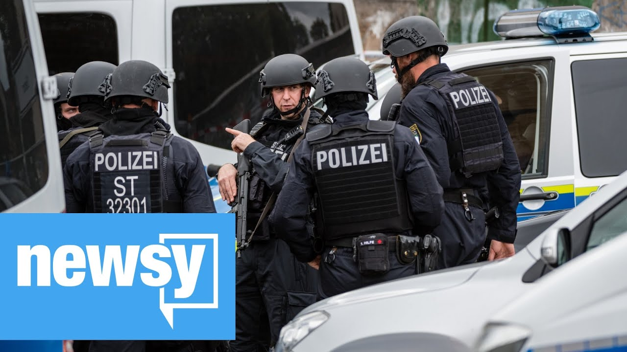 Germany shooting suspect livestreamed attempted attack on synagogue