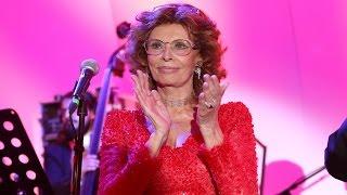Sofía Loren celebró en grande sus 80 años de vida