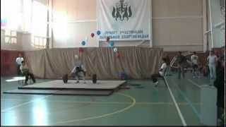 Выполнение Мастера спорта России по тяжелой атлетике