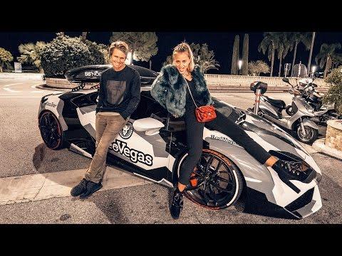 RACING MONACO AT NIGHT! | VLOG 243
