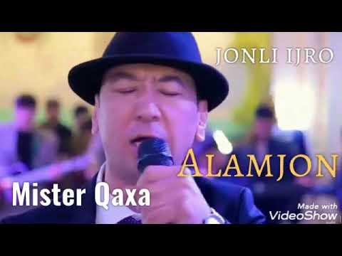 Mister Qaxa (Qahramon To'xtasinov) - Voy alamjon jonli ijro to'yda