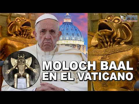 🔴 Vaticano Trae Estatua Del Demonio Moloch (Baal) Para Ser Adorada.