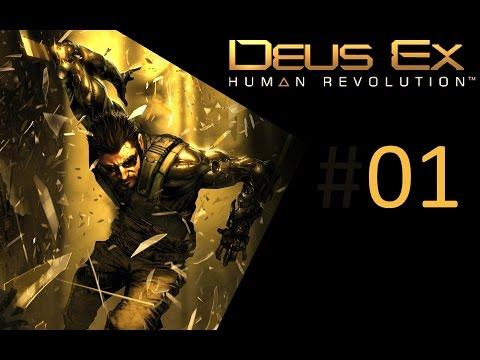 Deus Ex Human Revolution ★ #01: Das Ende ist ein Anfang ★ Gameplay Deutsch