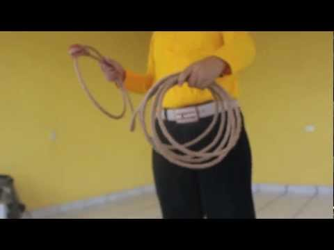 Aprendiendo floreo de soga- Video 1 (SUBTITLED)