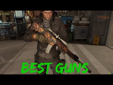 Best Guns To Use In The Division PTS/1.4