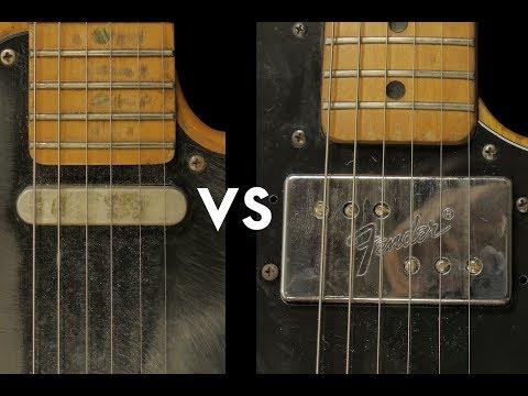 Telecaster Lipstick vs Wide Range Pickup Comparison