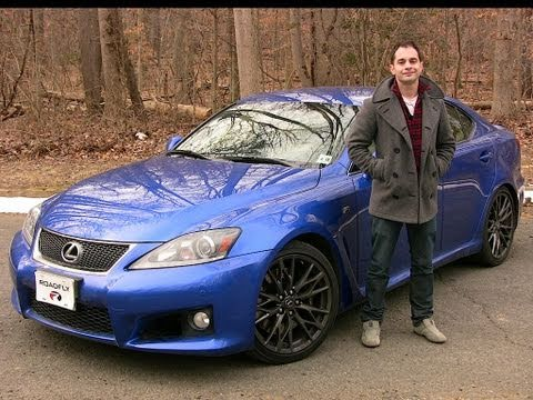 Roadfly.com   2011 Lexus IS F Road Test U0026 Review   YouTube