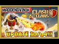 Gambar cover Clash of Clans - UPDATE 30/04 - Air Sweeper, Clan Bookmarks and More!!! Gameplay Commentary