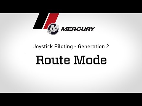 Joystick Piloting - Generation 2: Route Mode