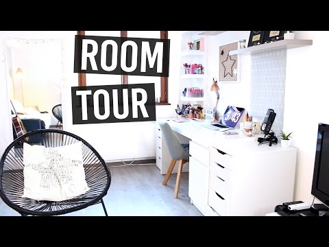 ROOM TOUR / Salon & Bureau - YouTube