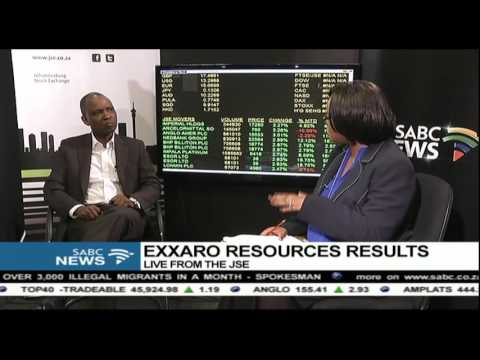 Exxaro Resources has posted a slight improvement in earnings