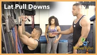 Lat Pull Down Workout with The Hodgetwins!
