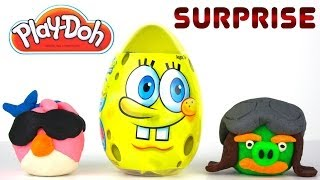 Opening A GIANT SPONGEBOB SQUAREPANTS EGG, a MINECRAFT Hangers Pack and MORE!