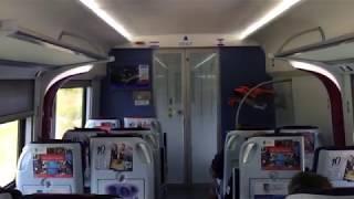 2020.1.5(日)14:02 マレー鉄道ETS グマス行き急行9321電車【最高時速140km  車内と車窓】
