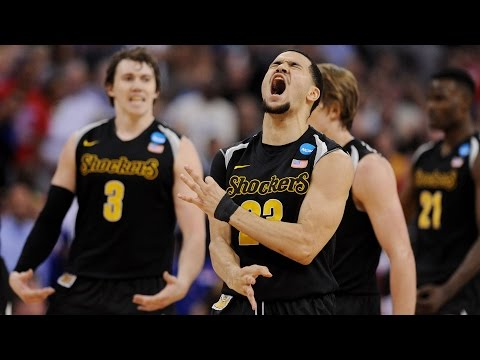 Third Round: Wichita State shocks Kansas