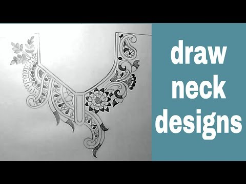 Neck Designs Sketch For Embroidery By Pencil Youtube,Price List Latest Bridal Lehenga Designs 2020 With Price