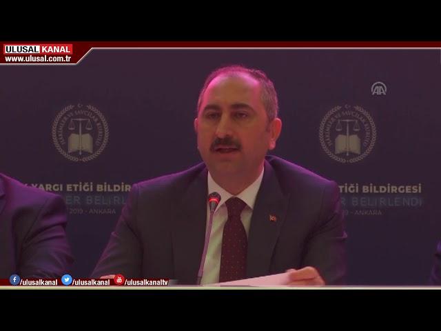 Abdulhamit Gül: Hile ve kumpasla hukuku çiğneyenlerin Türk yargısı içinde yeri yok