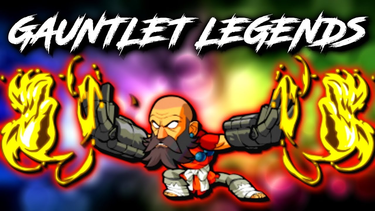 A Game with Every Gauntlet Legend!* • Brawlhalla 1v1s