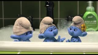 """Les Schtroumpfs 2 - Extrait """"Bubble Bath"""" - VF"""